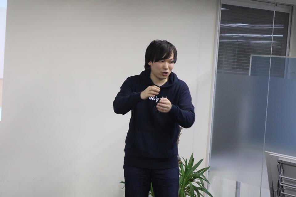 熱く言える新田さん